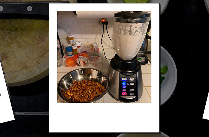 Sjogren's Strong Almond Milk Recipe banner