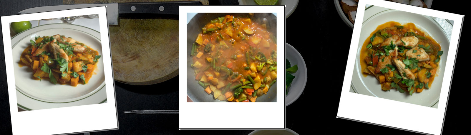 Chicken and Vegetable Masala recipe banner