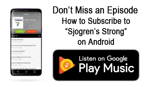 Subscribe on your android device in Google Play
