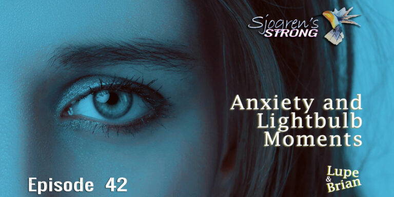 Anxiety and Lightbulb Moments